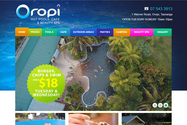 Oropi Pools and Cafe