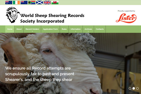 World Sheep Shearing Records Society Inc.